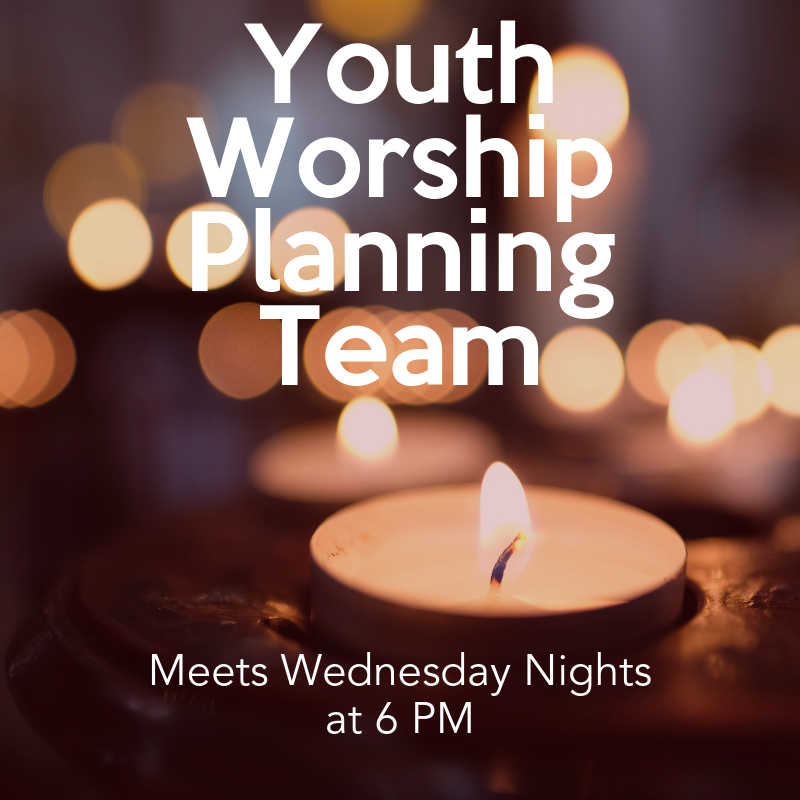 Information about youth worship planning team
